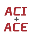 ACI and ACE in bold red letters.
